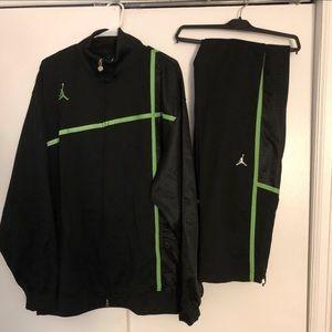 Jordan Black & Green Suit